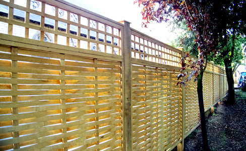 Beautiful Designer Fence Panels Hand Made From Oak Quercus